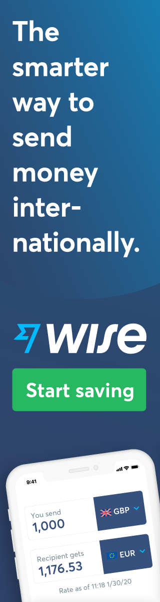 TransferWise banner